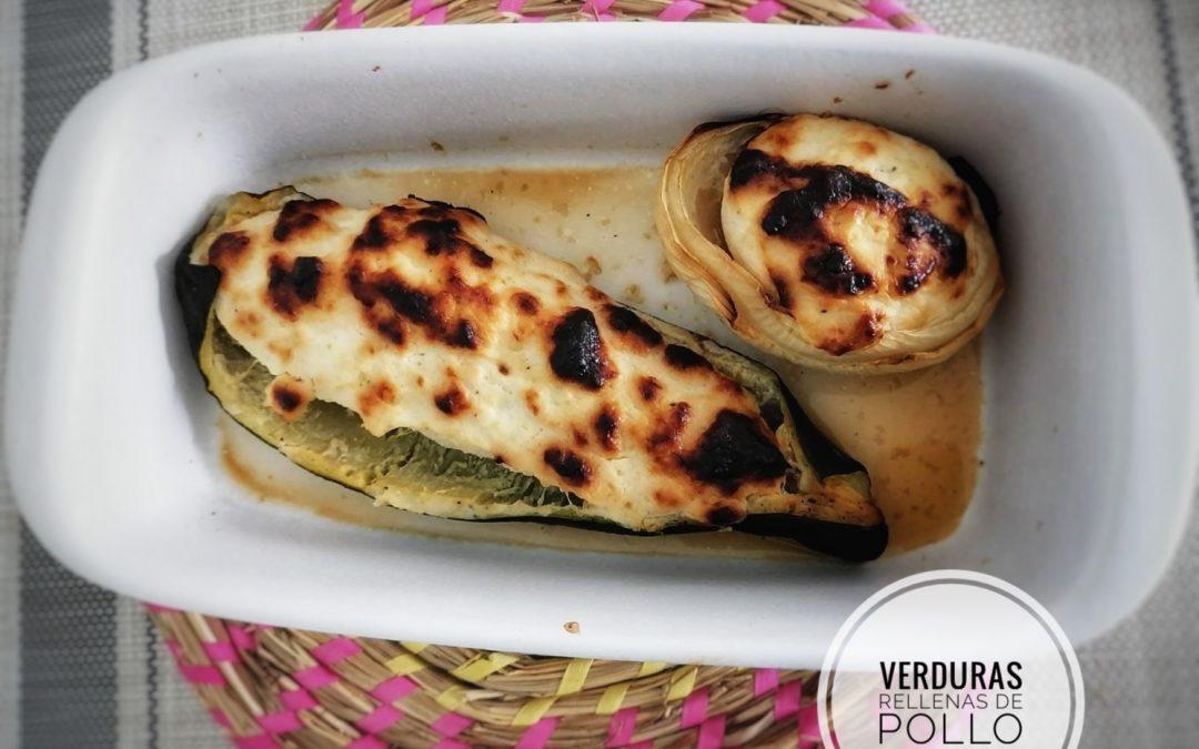 «Verduras rellenas de pollo»