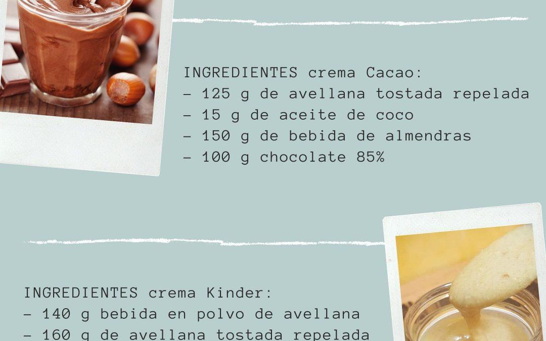 «Crema kinder y Nutella»